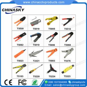 Cctv-koaxiales Kabel-Handquetschwerkzeug für BNC Verbinder (T5009)
