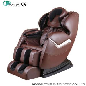 L Form-Spur-Musik-vollständige Karosserien-Heizschlauch-Massage-Stuhl