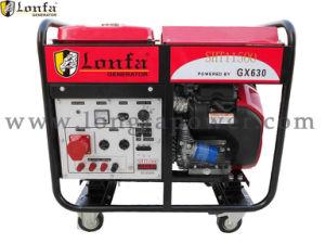 15kw Profassional generador de gasolina (V-Twin) GX670 e iniciar
