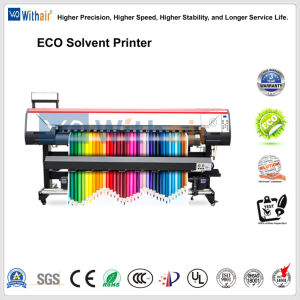 Openlucht & BinnenPrinter met Dx5.5 Printhead 1440dpi*1440dpi 1.8m