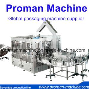 2018 Precio de fábrica de la línea de la botella de bebida de la planta/refresco y agua pura agua mineral líquido envasado Máquina de Llenado