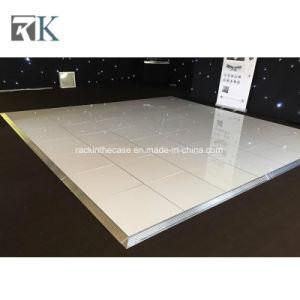 Su uso en interiores en blanco y negro pista de baile con armazón de aluminio