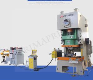 Banheira de vender Jh-21/45ton Estrutura C Máquina de prensa elétrica Pneumática