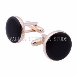 6PCS de Juwelen VAGULA namen Gouden Cufflinks van de Nagels van de Smoking toe
