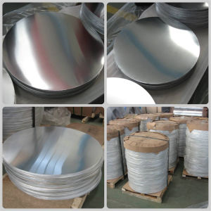Embutición 1100 3003 Disco de aluminio y el círculo de utensilios de cocina