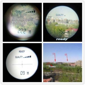 10X25 Hand-Held дальномера (700 метрах) поле для гольфа лазерного дальномера