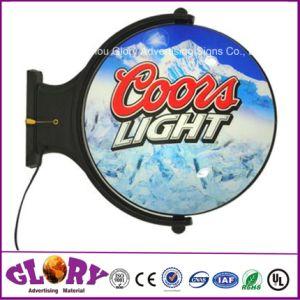 Акрил светодиодный индикатор и вращающийся блок освещения на дисплей со светодиодной подсветкой