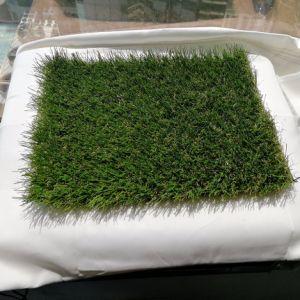 tappeto erboso artificiale di giardinaggio UV dell'erba dei prodotti del PE 3/8 di 30mm anti