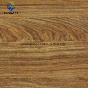 Bricolaje impermeable de PVC autoadhesivo piso vinílico tablones