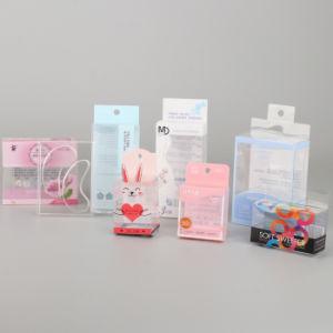 Custom transparente en PVC PP Boîte d'emballage en plastique PET pour la petite boîte cadeau cosmétique