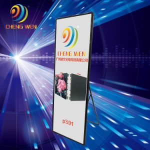 P3スマートなデジタル屋内LED表示ポスター広告の印スクリーン