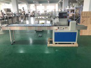 Китай Автоматическая продовольственной печенье подушки горизонтальной упаковки подушка упаковочные машины