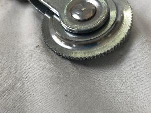 Rouleau d'usinage CNC de la pièce