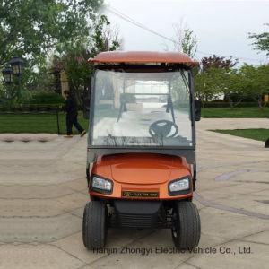 Carrinho de golfe de luxo eléctrico 6 Seaters