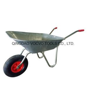 Stahlaufbau-industrielle Schubkarre der Kapazitäts-50L