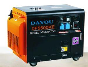 5,5 kw Générateur Diesel De type silencieux (50Hz)