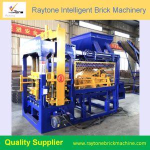 4-15 Qt China Bick de cimento máquina para fazer blocos de concreto de Alimentação