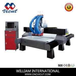 Tagliatrice automatica di CNC di Digitahi del commutatore dell'asse di rotazione per la fabbricazione portello/di legno