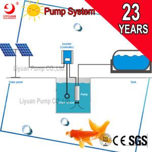 태양 AC 수도 펌프 장비, 태양 강화된 태양 잠수할 수 있는 양수 시스템