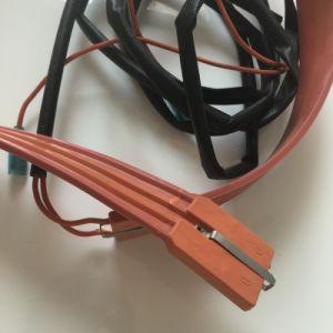 Flexible de 12V/24V Chauffage personnalisée en usine de caoutchouc de silicone avec adhésif 3M