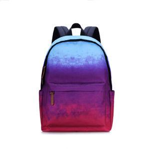 2018 BSCI парикмахерский салон цифровой печати нейлон школы Backpack-Fading