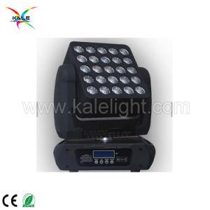 効果25PCS 12W 4in1 RGBW LEDのマトリックスの移動ヘッドライトのピクセルマップ