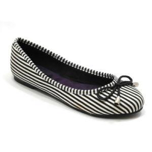 Faible prix populaires femmes décontractées ballerine chaussures plates
