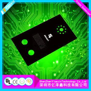 Laser geätzt und Drucken-Symbol-Membranen-Panels/Objektive