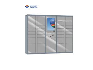 Drahtlose Überwachung-Anlieferungs-Paket-Ansammlungs-Schließfächer mit befestigten elektronischen Verschlüssen