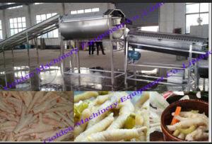 Китайский свежей курицы Paw процесса куриные ножки производственной линии машины