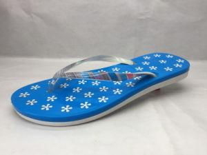 Concise Confortable Pink PVC / Pcu Cute Flip Flops Sandales d'été (24ML1720)