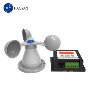 Un anémomètre numérique intelligent /tour du capteur de vitesse du vent d'alarme intelligente de l'anémomètre numérique/grue à portique dédié