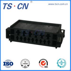 Mazo de cables de plástico macho hembra Audio Automotriz Conector del cable de vídeo
