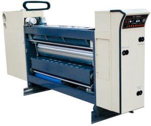 홈을 파기 인쇄하는 경제 자동적인 1~4 색깔은 절단 기계장치를 정지한다