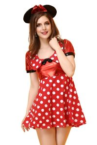 Mode Femmes Sexy costume de Mickey ensemble Lingerie Sexy Hot lingerie sexy nuisette