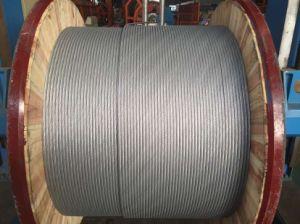 Norma ASTM arame de aço revestido de alumínio no tambor de madeira de ferro