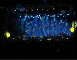 P20 LED Video Wall/Soft Flexible LED Curtain für Stage Lighting (P17.5, P20. P25 LED Nettobildschirm)