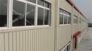 가벼운 강철 별장 집 또는 조립식 가옥 집 또는 강철 창고 또는 강철 작업장