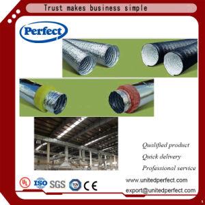 Голый гибкие воздуховоды/Semi-Rigid Duct-Insulated Гибкий воздуховод