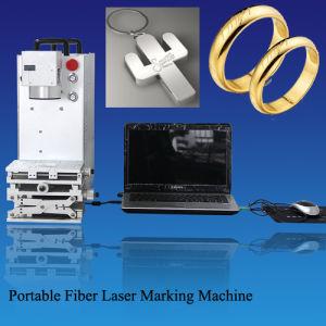 Laser de YAG, laser de Metal Fiber Marking Machine pour Blade
