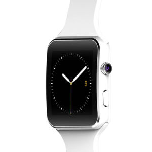 X6 Smartwatch met Telefoon van het Horloge van Bluetooth van de Kaart van de Steun SIM TF van de Camera de Slimme