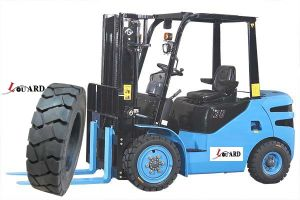 Fester Reifen-Gummigummireifen 1300-24 des Exkavator-Tire1400-24 G2