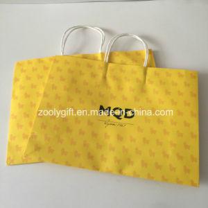 Bolsa de papel de impresión personalizado para la ropa de bebé el embalaje