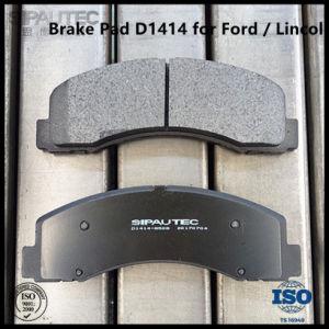 Pastilha de Freio a Disco Dianteiro Semi-Metallic D1414 para a Ford F-150 peças do veículo