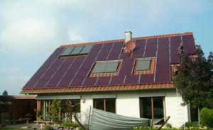 De Generatie van de ZonneMacht van het dak
