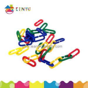 Escrutinio y cómputo de plástico/Plástico de juguete de la cadena de enlaces (K004)