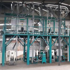 La transformation du maïs grain de maïs de la semoule de blé de meunerie Posho mill price