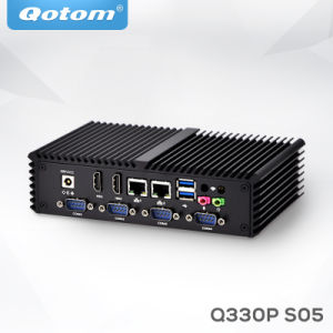 Qotom-Q330p мини-компьютер AES-NI двухъядерными процессорами Intel 4005u Linux PC