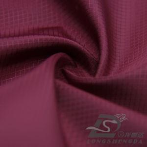 75D 210t Tecidos Jacquard 100% poliéster Pongées Fabric (FE013ZP)