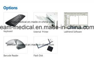 病院のクリニックの実験室のタッチ画面のマイクロ版のMicroplate Elisaの読取装置(WHY101S)
